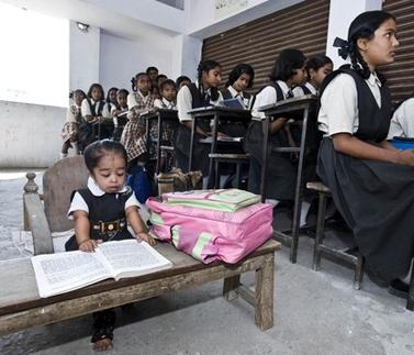 Jyoti, la liceu