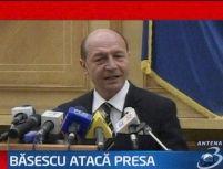 Băsescu atacă din nou: Jurnalul Naţional continuă politica de denigrare a preşedintelui