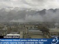 Proteste în China. Guvernul a recunoscut că a deschis focul asupra manifestanţilor tibetani