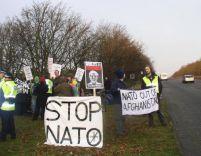Şase activişti anti-NATO, arestaţi la Calafat