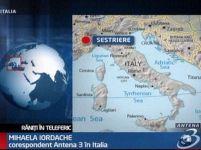 Italia. 18 răniţi într-un accident de teleferic