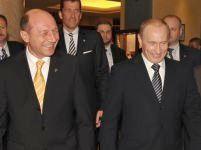 Vladimir Putin şi Traian Băsescu vor participa vineri la o întâlnire bilaterală