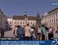 Un poliţist român a fost arestat în Austria, pentru furt
