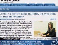 Mărturie explozivă: Claudiu Crulic se afla în Italia când s-a comis furtul din Polonia