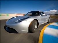 Supermaşina electrică Tesla Roadster va debuta în Europa (FOTO)
