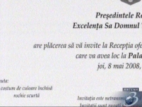 Femeile sunt invitate la Palatul Cotroceni numai în rochie scurtă