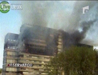 Clădirea unei facultăţi din Olanda s-a prăbuşit în urma unui incendiu
