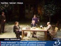 După 20 de ani, fostul preşedinte ceh Vaclav Havel şi-a prezentat o nouă piesă de teatru la Praga
