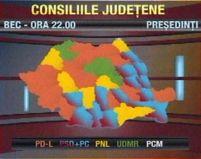 Rezultate parţiale: PD-L a câştigat cele mai multe consilii judeţene, PSD cele mai multe primării