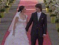 Nuntă la palat: Adelina şi Cristi Chivu au petrecut alături de cei 500 de invitaţi