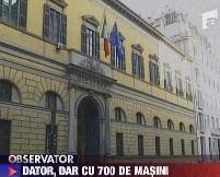 Italia. Un român care deţine peste 700 de maşini, cercetat pentru evaziune fiscală