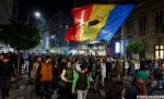 Romanians would not give up protesting. 200 people rallied Monday in the University Square