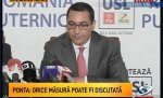 Victor Ponta leaves the Roşia Montană project to the Parliament's decision