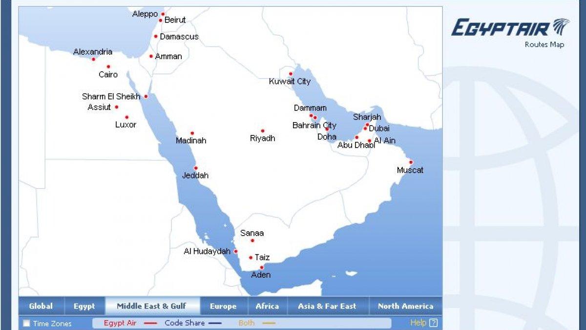 Orientul Mijlociu A Rămas Fără Israel Egyptair A Desfiinţat