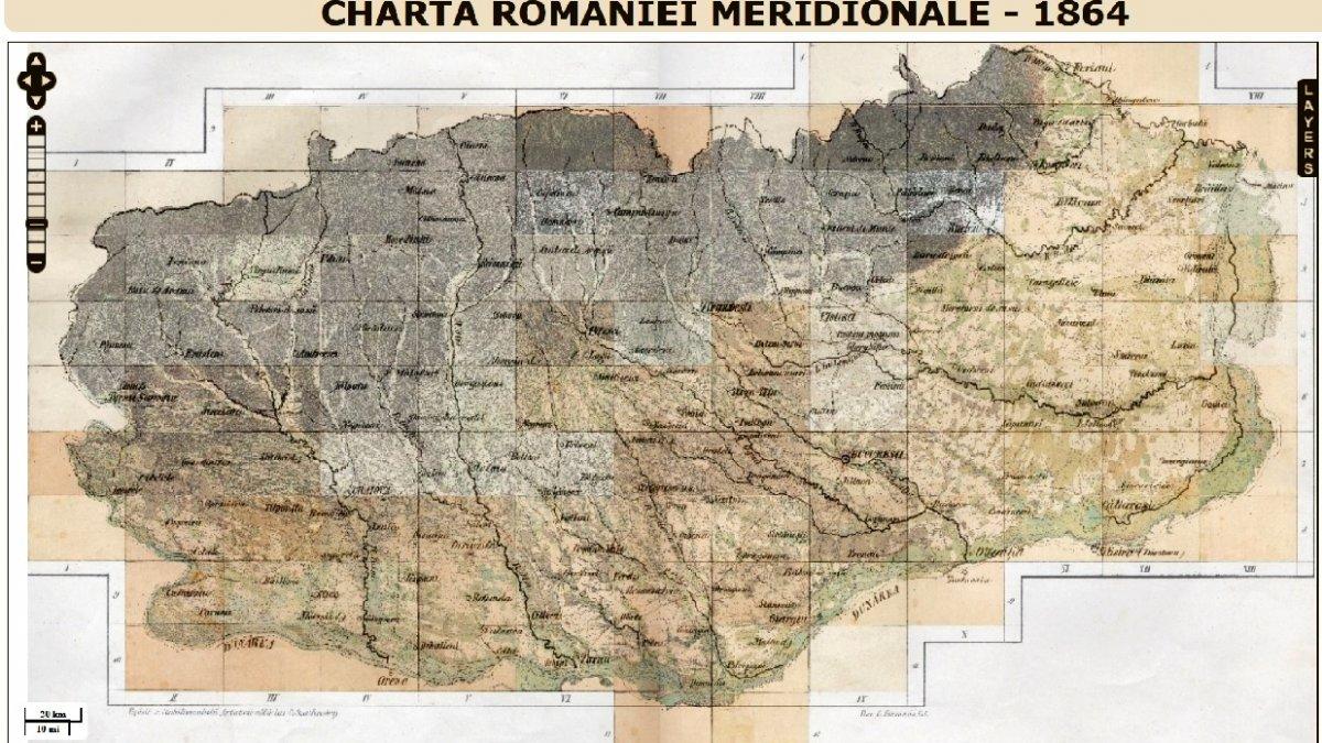 Prima Hartă Pe Care A Scris Romania Accesibilă In Format Google Map