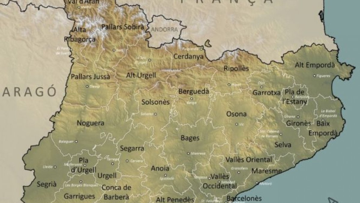 Harta Europei S Ar Putea Schimba Catalonia Cea Mai Bogată