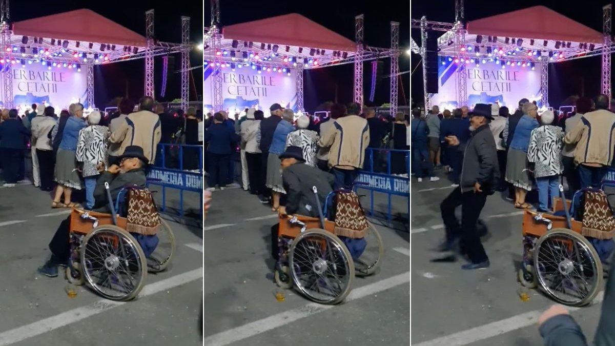 datând un băiat într- un scaun cu rotile