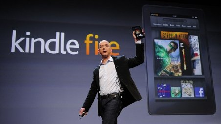 Amazon a lansat tableta Kindle Fire, o concurent? serioas? la adresa Apple