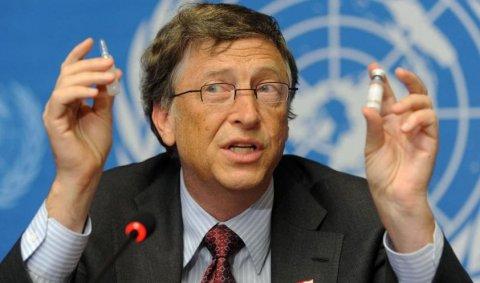 Bill Gates �ine mor�i� s� ne �mpu�ineze: Vrea s� reduc� popula�ia P�m�ntului prin vaccinare