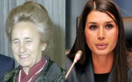 """""""Tovarăşa"""" Elena Băsescu! Fiica preşedintelui, confundată cu Elena Ceauşescu în PE. Sesizaţi vreo asemănare?"""