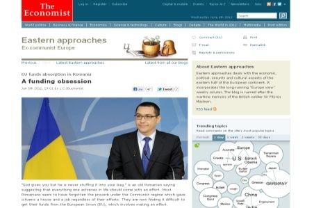 "The Economist: Rom�nii par s? fi uitat proverbul ""Dumnezeu �?i d?, dar nu-?i bag? ?i-n traist?"""
