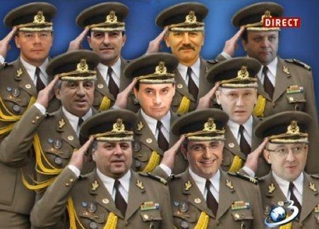 """Lista ofi?erilor numi?i la """"strict secret"""" de fostul Ministru al Ap?r?rii Gabriel Oprea. Turcescu si MRU, printre colonei"""