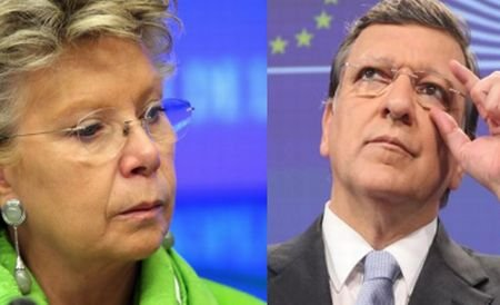 """Liderul liberalilor europeni îi atacă pe Reding şi Barroso. """"Nu au fost obiectivi în evaluarea României"""""""