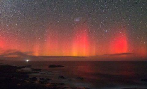 Fotografia uimitoare realizată în Australia. Surprinde trei fenomene astronomice simultan