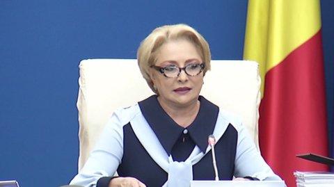 """Ședință de Guvern. Premierul Viorica Dăncilă: Continuă programul pilot """"Masa caldă în..."""