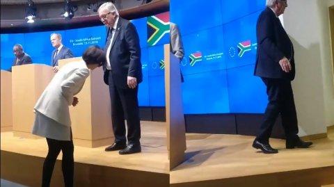 Ironii la adresa lui Jean-Claude Juncker! Cum a apărut în public la un important summit - VIDEO