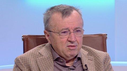 Moment inedit în platoul Antena 3. Ion Cristoiu, 70 de ani de viață, 50 de carieră