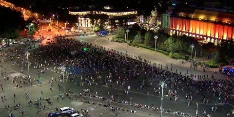 Ultrașii, organizați să atace jandarmii. Cine a chemat galeriile la proteste