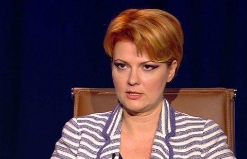 Scenariu-șoc: Lia Olguța Vasilescu ar putea rămâne în afara Guvernului