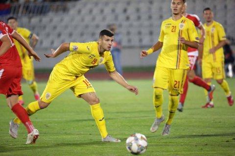 România învinge Muntenegru, dar ratează promovarea în al doilea eșalon al Ligii Națiunilor