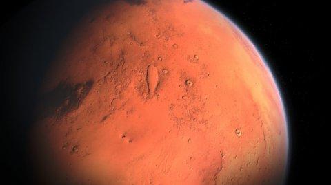 NASA a publicat primele imagini oficiale de pe Marte, cu o calitate ridicată - FOTO