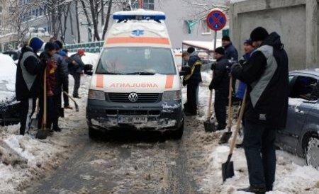 Tragedie în Botoșani. Un bărbat şi o femeie au murit de frig în propria casă