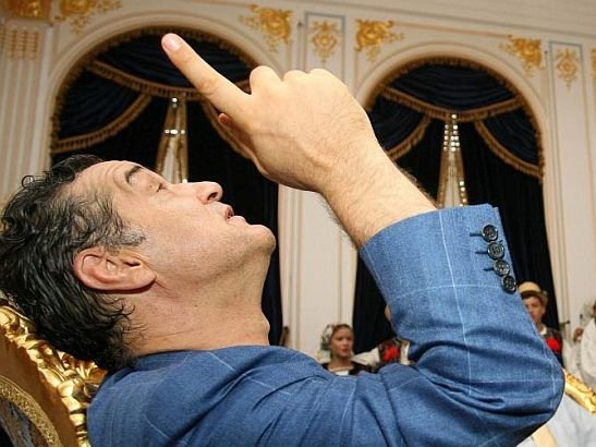 Gigi Becali has surrendered himself. The Financier of  Steaua Bucharest has been sentenced to serve three years in jail 114