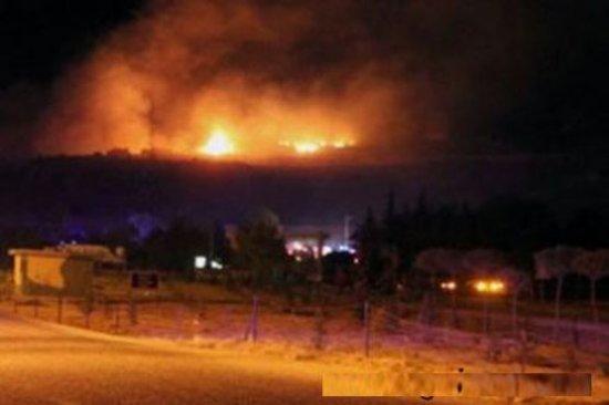 Israele un atacat Siria. Tinta a fost ONU depozit de rachete 482