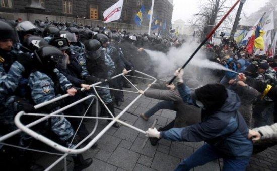 Strazile Din pe Străzile Din Kiev