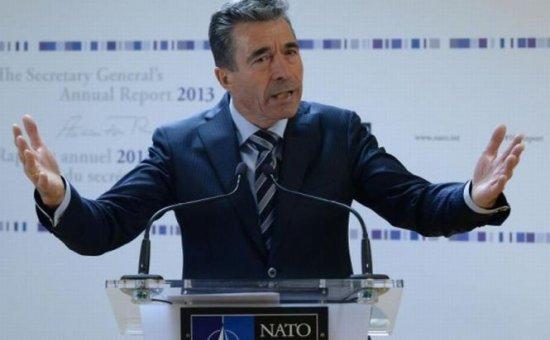 Rasmussen: Criza din Ucraina evidenţiază relevanţa NATO 418