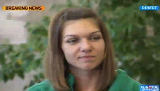 Simona Halep: Mulţumesc din suflet românilor care m-au susţinut. Îmi pare bine că sunt din România 407