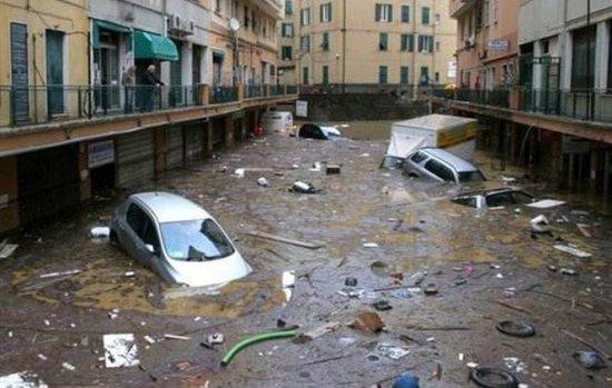 Bilanţul inundaţiilor din Italia: Cinci morţi şi pagubele de sute de milioane de euro 418
