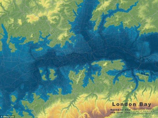 Cum se va schimba HARTA LUMII. Pământul pierde teren în calea apelor, iar metropolele vor fi inundate 442