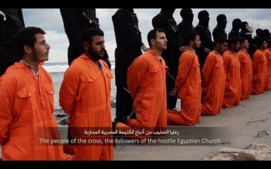 Teroriştii de la gruparea Stat Islamic revendică DECAPITAREA a 21 de egipteni creştini 418