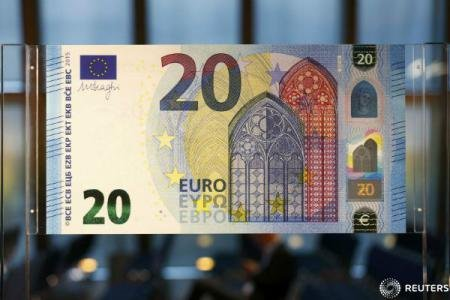 Banca Centrala Europeană a prezentat noua bancnotă de 20 de EURO 534