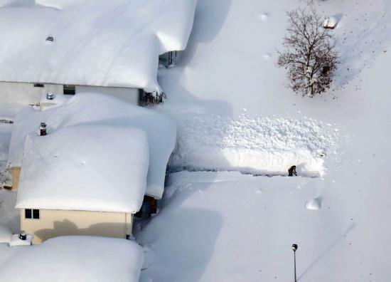 Martie a adus ninsori în Italia. Zăpada a atins 2,5 metri în doar 18 ore 534