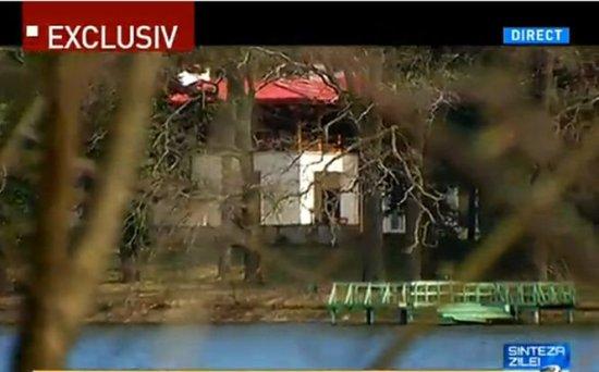 Imagini EXCLUSIVE cu domeniul Scroviştea. Cum arată palatul ocupat de Băsescu 418