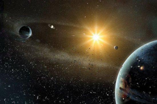 Premieră istorică. Cum se formează un sistem planetar 132