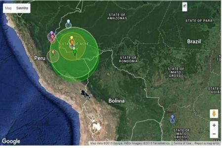 Un cutremur puternic a avut loc în Brazilia 127