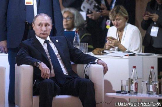 Vladimir Putin, declarații sfidătoare la adresa NATO și sancțiunilor impuse de UE 482
